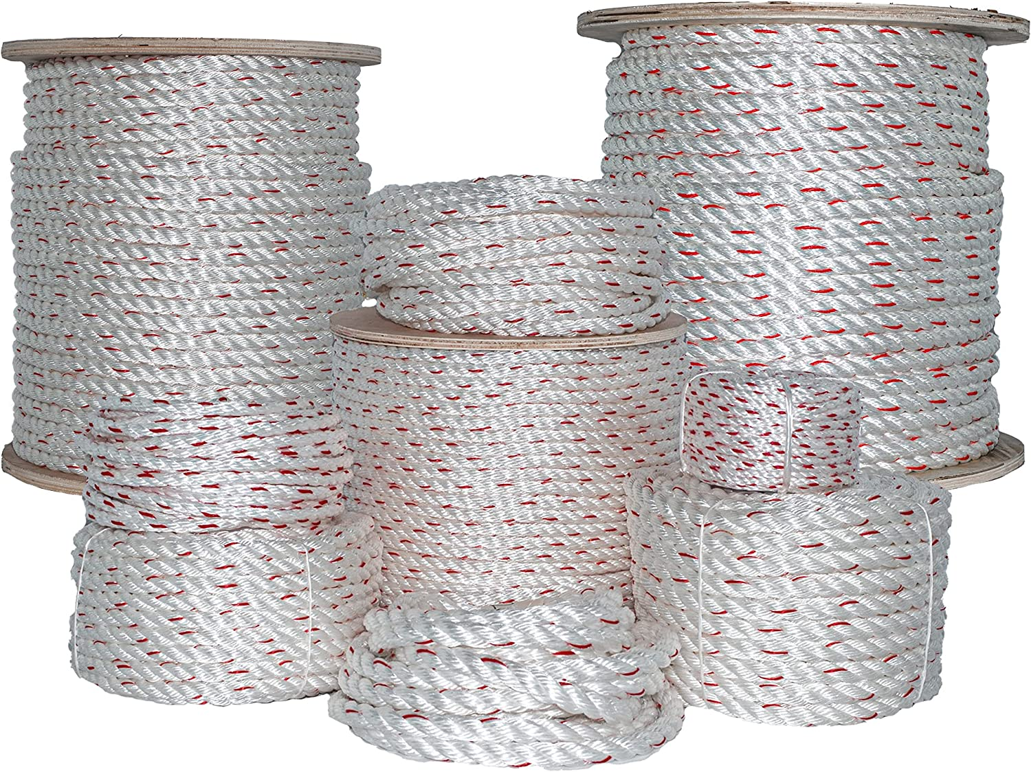Max 49% OFF SGT KNOTS Twisted Poly Dacron Rope Line Challenge the lowest price of Japan ☆ Strand with Polyolef - 3