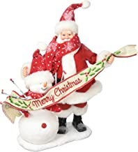 "Department 56 Possible Dreams Santa Claus ""In The Meadow"" Clothtique Christmas Figurine"
