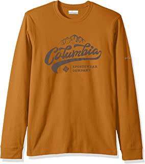 Columbia Mens KetringTM Long Sleeve Graphic Crew Ii Short Sleeve Shirt