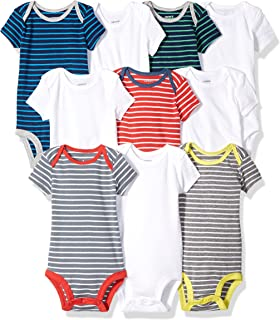 Baby Boys' 10-Pack Short-Sleeve Bodysuits