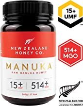 raw manuka honey umf 15