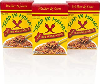Slap Ya Mama Louisiana Style Red Beans and Rice Dinner Mix, Quick and Easy Cajun Meal, 8 Ounce Box, Pack of 3