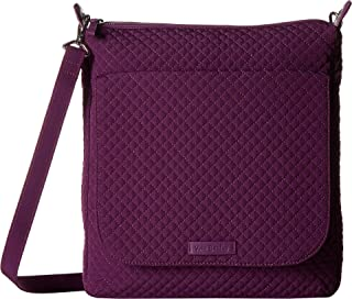Vera Bradley Carson Mailbag Gloxinia Purple One Size