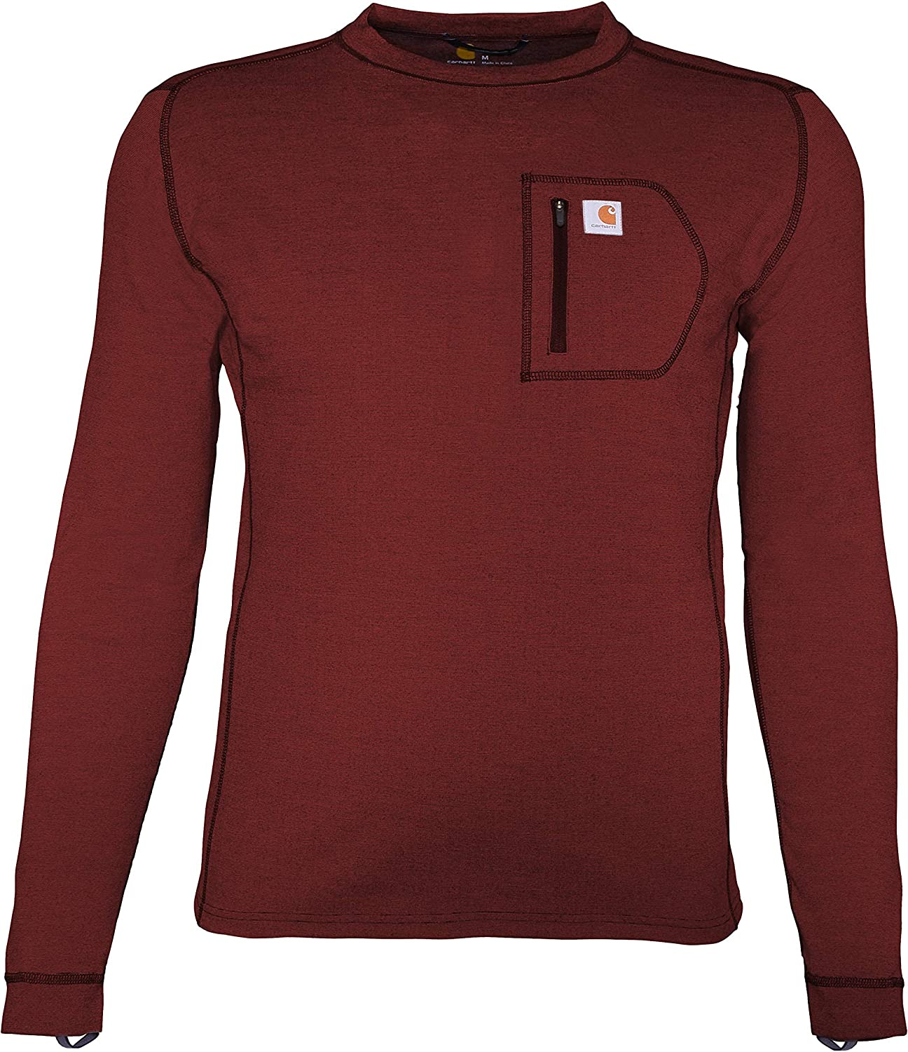San Jose Mall Carhartt Men's Force Heavyweight Limited Special Price Thermal Layer Long Sleeve Base
