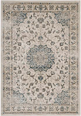 Amazon Com Traditional Vintage Area Rug Distressed Rug