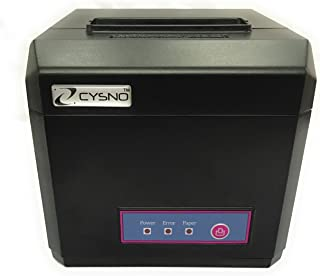 CYSNO BIS Certified 80mm (3 Inches) Direct Thermal Printer CYP-E801 - Monochrome - Desktop - Auto Cutter - Receipt Print POS Printer