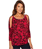 MICHAEL Michael Kors - Garden Chain Cold Shoulder Top