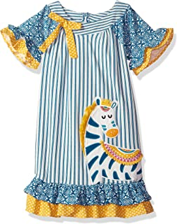 Girls' Applique Dress