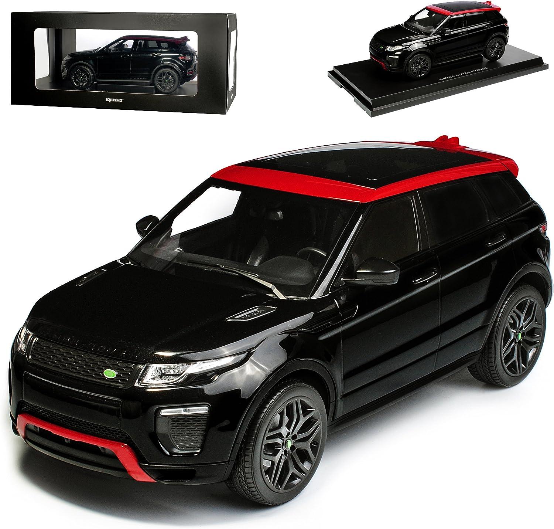 Kyosho Land Rover Range Rover Evoque L538 Schwarz mit Rot 5 Türer Ab 2011 1 18 Modell Auto B074R73HXW Günstigen Preis  | Die Königin Der Qualität