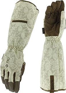 Ethel: Women's Gardening & Utility Work Gloves by Mechanix Wear - Rose Guantlets (Women's Medium)