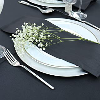 Kadut Cloth Dinner Table Napkins (12 Pack) | 17 x 17 Inch Table Linens Made from Stain & Wrinkle Resistant Polyester | Fab...