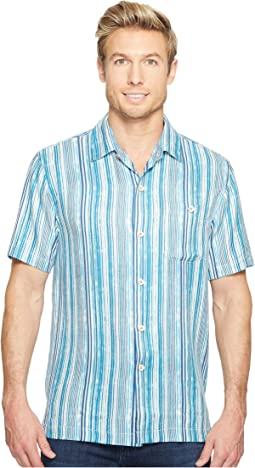 Tommy Bahama - Stripe Me To Paradise Camp Shirt
