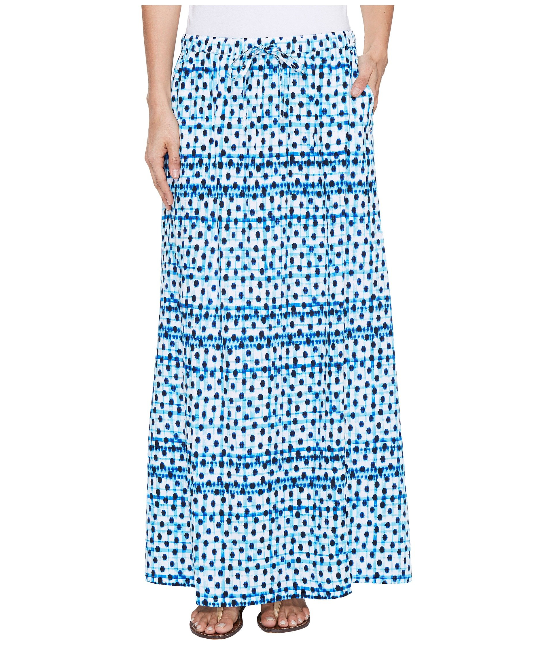 Dot Matrix Maxi Skirt