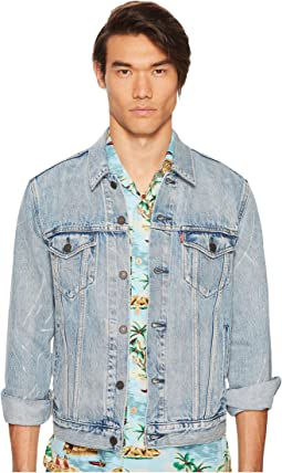Premium Denim Trucker Jacket
