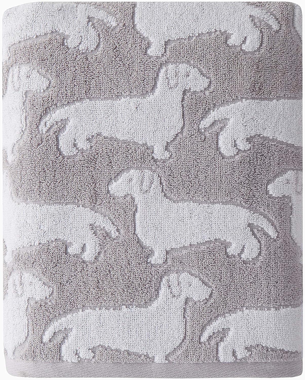SKL Max 88% Fashion OFF HOME by Saturday Knight Gray Bath Dog Ltd. Towel