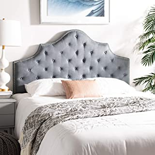 Safavieh Mercer Collection Arebelle Grey Tufted Headboard (Full)