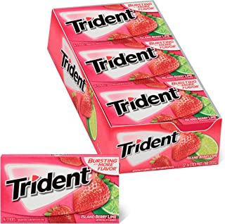 Sponsored Ad - Trident Island Berry Lime Sugar Free Gum, 12 Packs of 14 Pieces (168 Total Pieces)