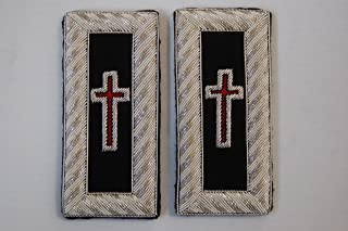 Masonic York Rite Knights Templar Shoulder Boards