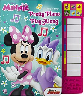 Disney Minnie Mouse - Pretty Piano Play-Along Song Board Boo