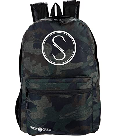 Salty Crew Bouy Backpack (Camo) Backpack Bags