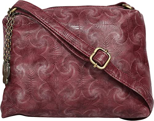 Butterflies Women Sling Bag Burgundy BNS 0710BGD