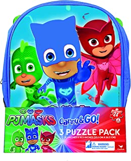 PJ Masks Backpack Puzzle (3 Pack)