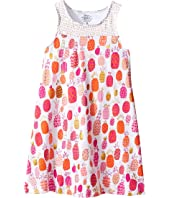 Hatley Kids - Tropical Pineapple Swim Dress Cover-Up (Toddler/Little Kids/Big Kids)