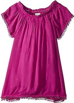 O'Neill Kids - Avery Woven Sleeved Dress (Toddler/Little Kids)