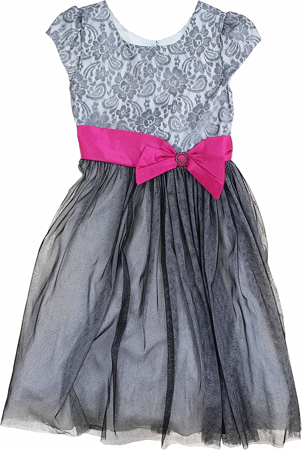 Jona Michelle Girl's Blue Special Occasion Party Dress