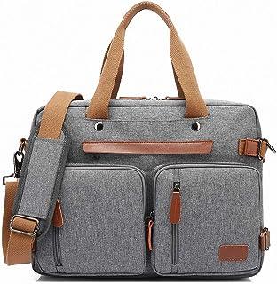 ARLRICH Convertible Backpack Messenger Bag Shoulder Bag Laptop Case Handbag Business Briefcase Multi-Functional Travel Ruc...
