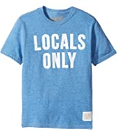 The Original Retro Brand Kids - Locals Only Short Sleeve Tri-Blend Tee (Big Kids)