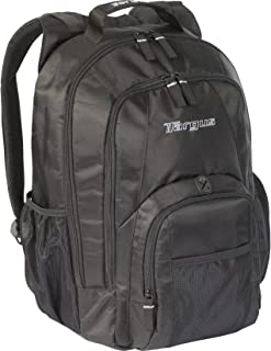 Targus Groove Professional Business Laptop Backpack with Padded Compartment, Durable PVC Resistant Material, Front and Side Pouch Pockets, Protective Sleeve fits 16-Inch Laptop, Black (CVR600)