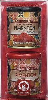 Carmencita Pimentón Dulce y Picante - 2 Paquetes de 1 Set