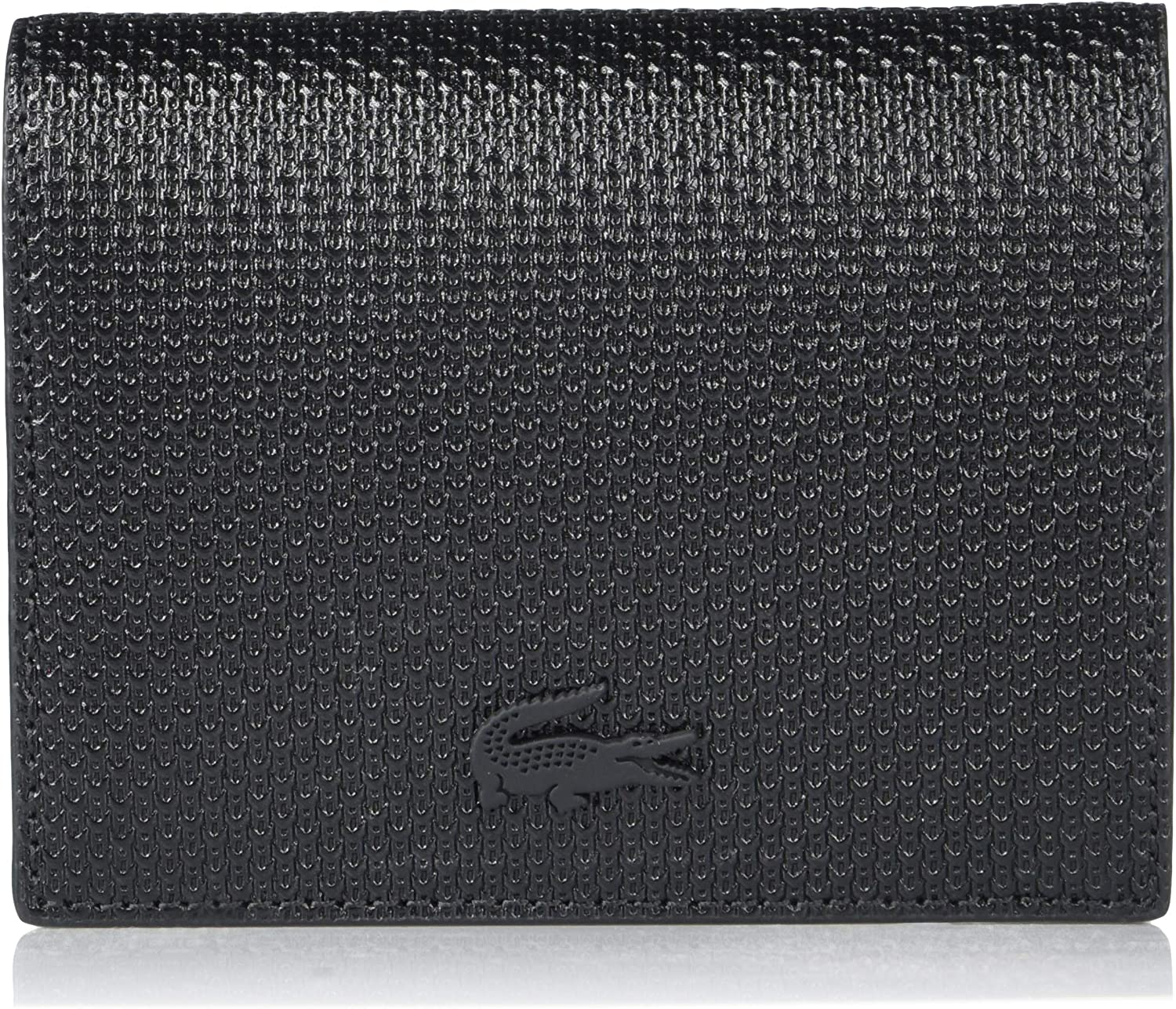Lacoste Women's Leather Snap Coin Purse Wallet