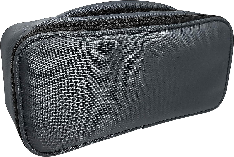 Nerthus Lunch Bag Rectangular Fiambrera Bolsa termica Porta Alimentos Individual, Negra 1 Bolsillo, Tela Resistente, Gris, Única