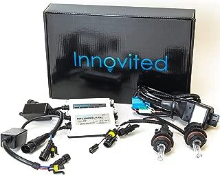 Innovited AC 55W BI-XENON HI/LOW DUAL BEAM HID Kit - 9004 9007 6000K - 2 Year Warranty