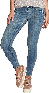BlendShe Adriana Jeans Denim Pantaloni da Donna Elasticizzato Skinny Destroyed