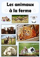 Les animaux à la ferme: Livre d'images d'animaux de compagnie Cat Kuku (French Edition)