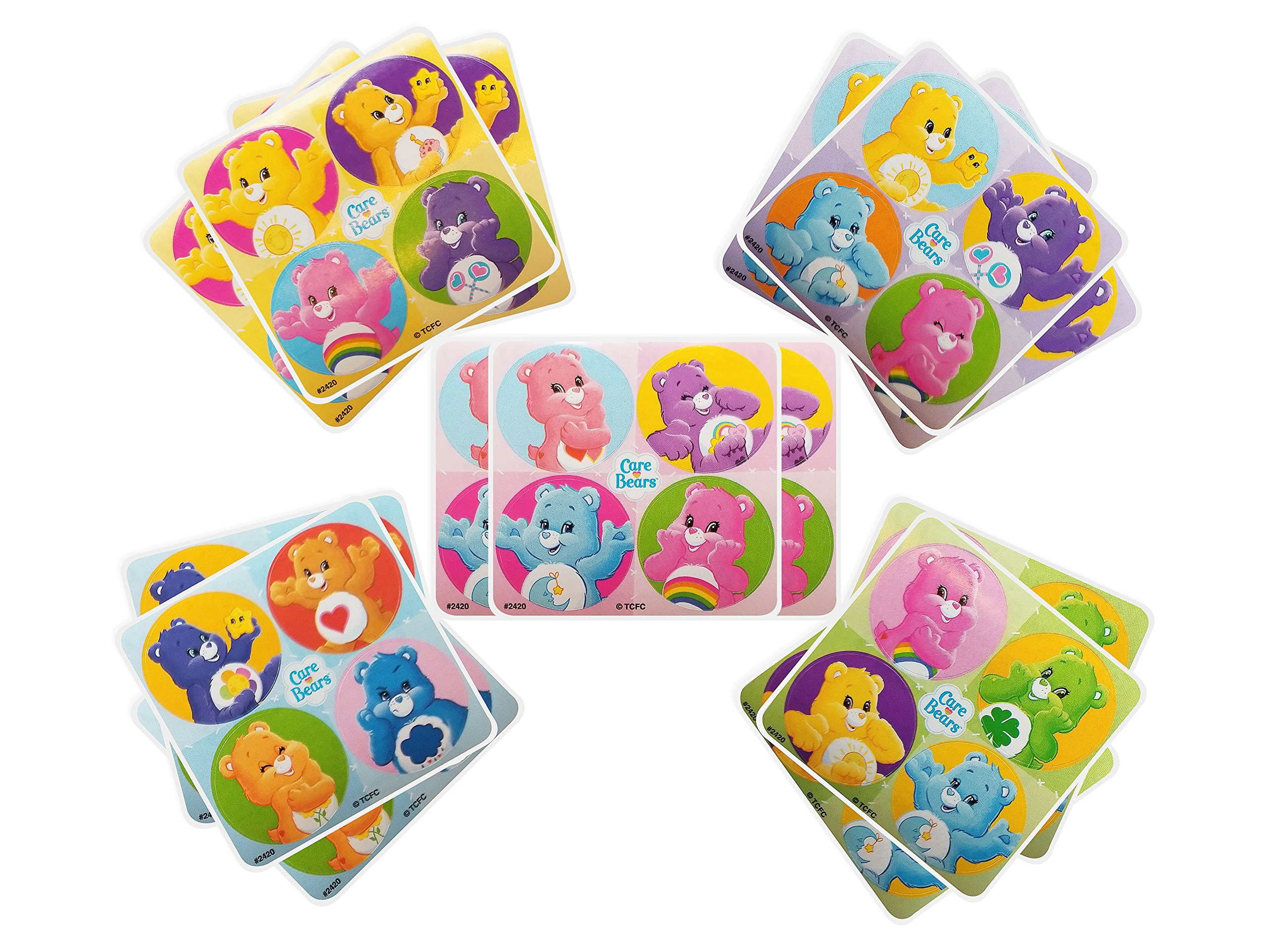 Care Bears Party Favors sheets