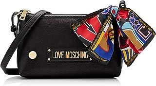 Love Moschino Grain Pu, Borsa a Tracolla Donna, 15x10x15 cm (W x H x L)
