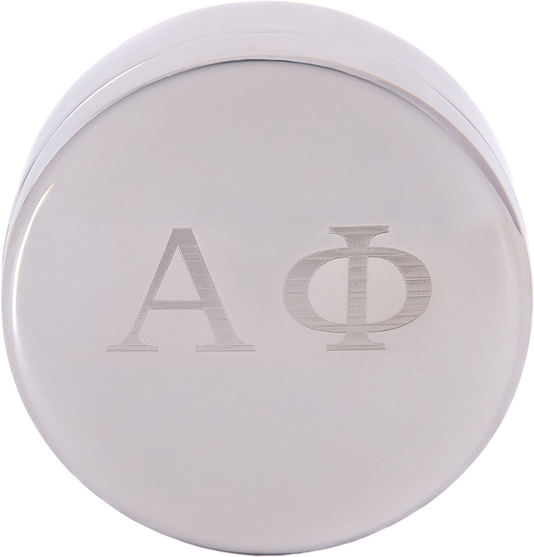 Alpha Phi Engraved Sorority Greek 5 ☆ very popular Soldering Decorative Ring for Case Great