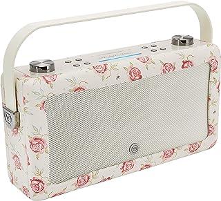VQ Hepburn Voice Portable Bluetooth Speaker with Amazon Alexa Voice - Emma Bridgewater Rose & Bee