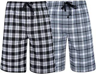 Hanes Men's  Big Men's Woven Stretch Pajama Shorts  2...