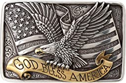 M&F Western - God Bless America Buckle