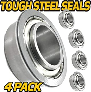 HD Switch (4 Pack) Front Wheel Bearings Replaces 786103 Hustler & Big Dog Mowers - Sealed Upgrade