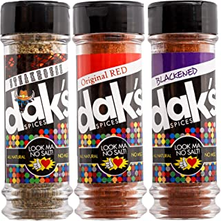 DAK's Spices GRILL SET 3 PACK – Grill it the no-sodium way to your heart's content! 100% salt free and 100% MSG free seaso...