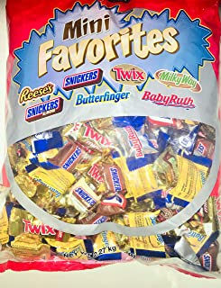 Kirkland Signature Mini Favorites Chocolates Variety Pack 5 Lb Bag