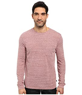 Tri-Blend Long Sleeve Pocket Tee