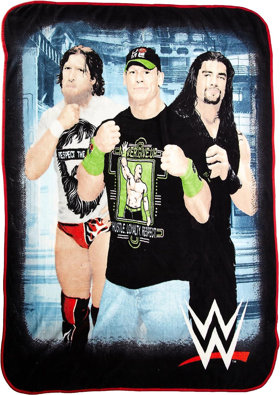 World Wrestling Entertainment So So Strong Microraschel Throw, 46  x 60
