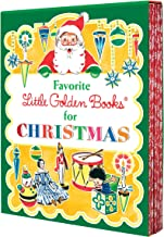 Favorite Little Golden Books for Christmas 5 copy boxed set